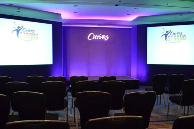 Curves Corporate Event